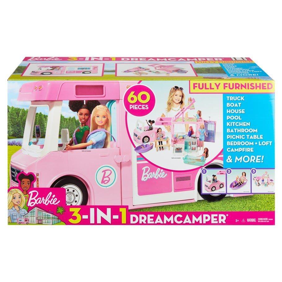 MATTEL Barbie 芭比夢幻露營車【未附芭比需另購】