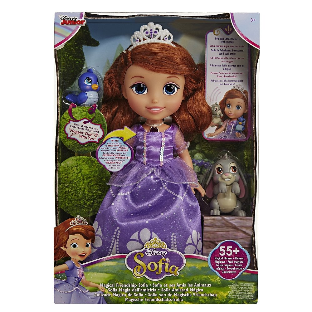 迪士尼公主 蘇菲亞12吋音效互動娃娃