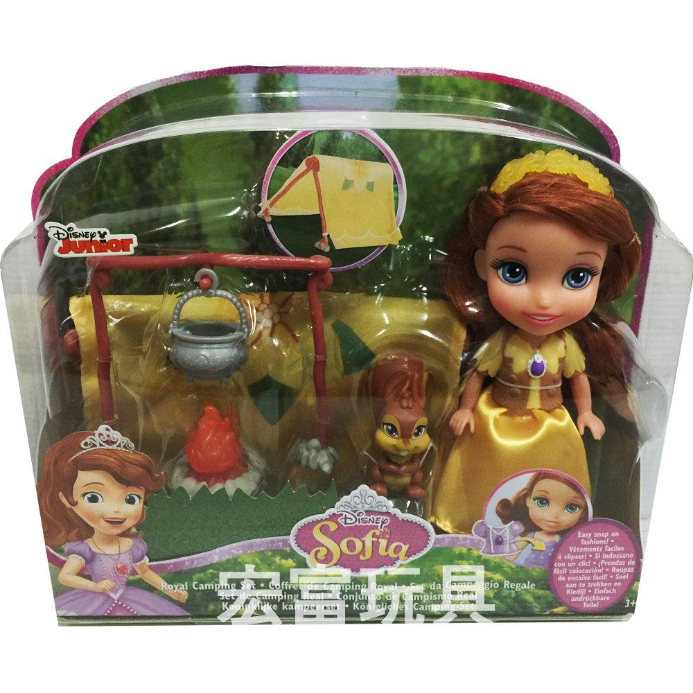 迪士尼公主 6吋小公主蘇菲亞娃娃故事組