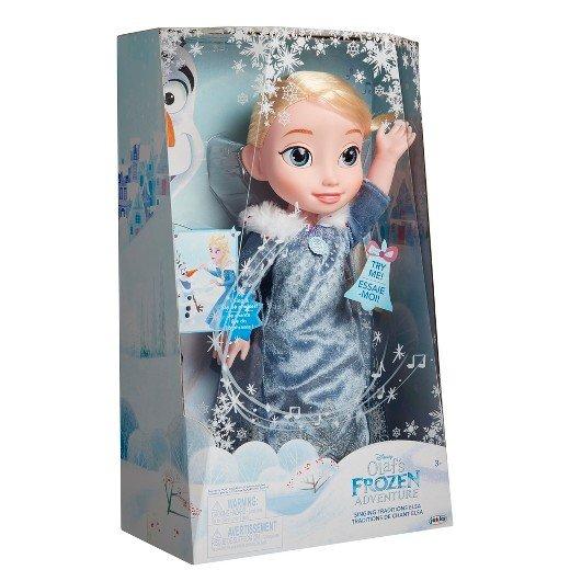 冰雪奇緣 雪寶的佳節冒險 - 閃耀唱歌艾莎