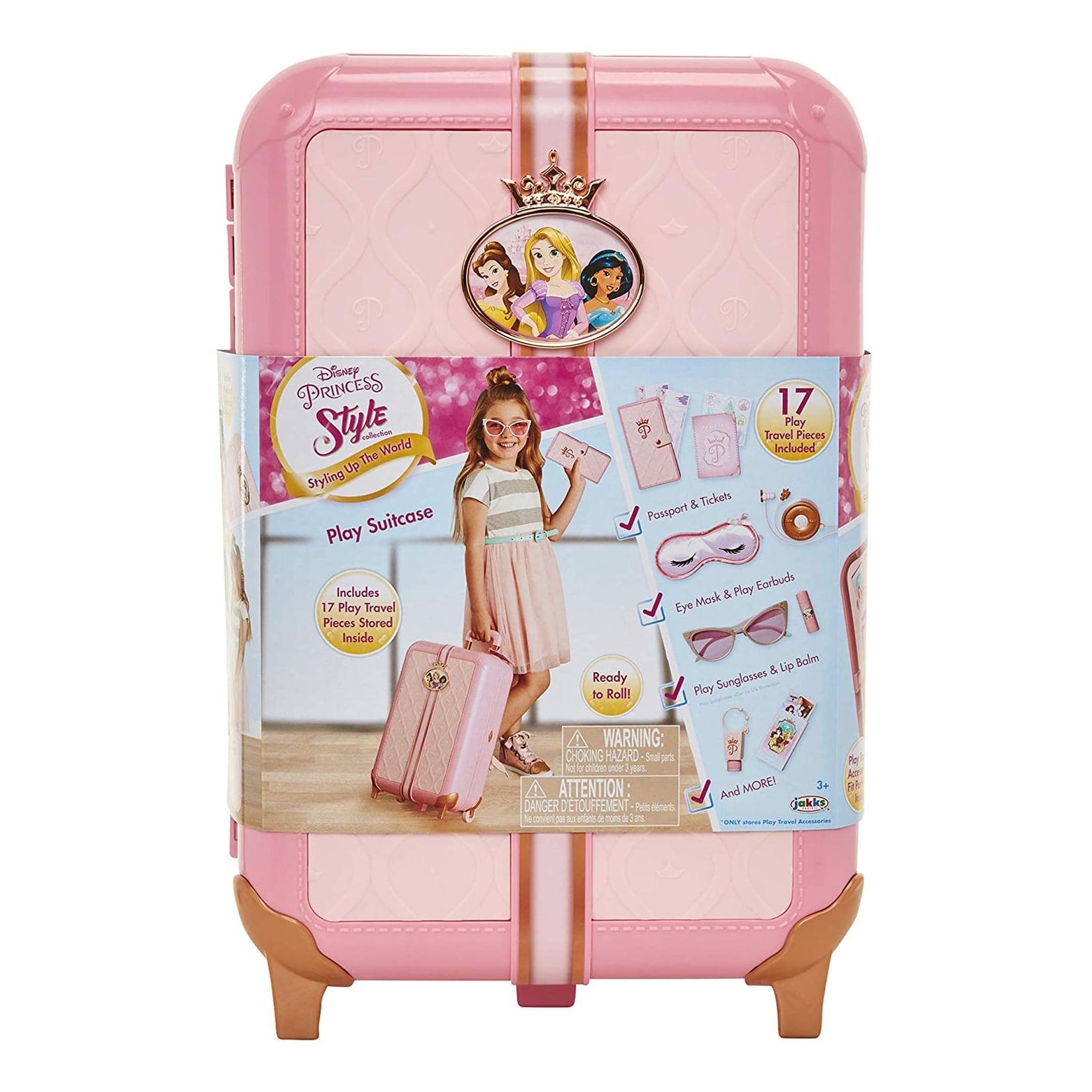 迪士尼公主 公主粉紅手拉箱 【特價品】