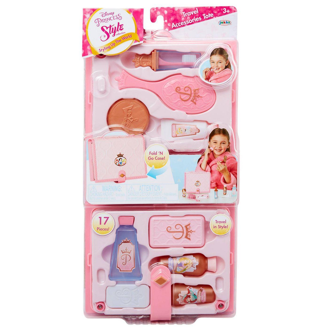 迪士尼公主 公主粉紅造型提箱