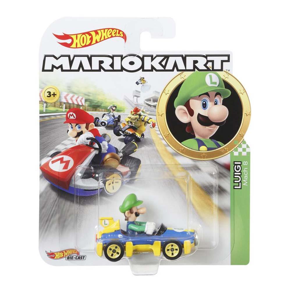 風火輪Mario Kart 合金車系列 LUIGI