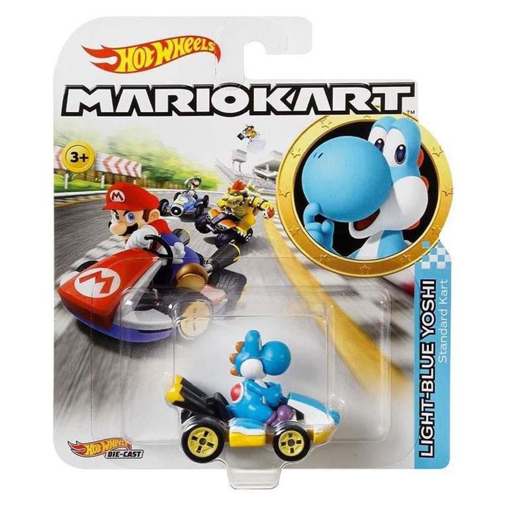 風火輪Mario Kart 合金車系列 LIGHT-BLUE YOSHI