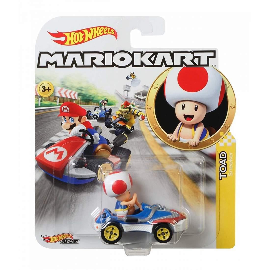 風火輪Mario Kart 合金車系列 TOAD