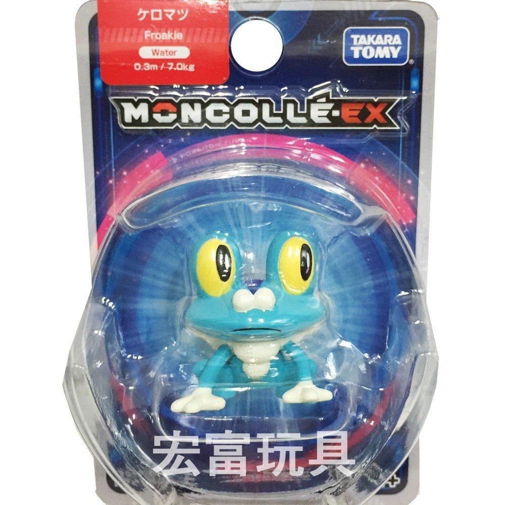 精靈寶可夢 神奇寶貝 PCC 09 呱呱泡蛙