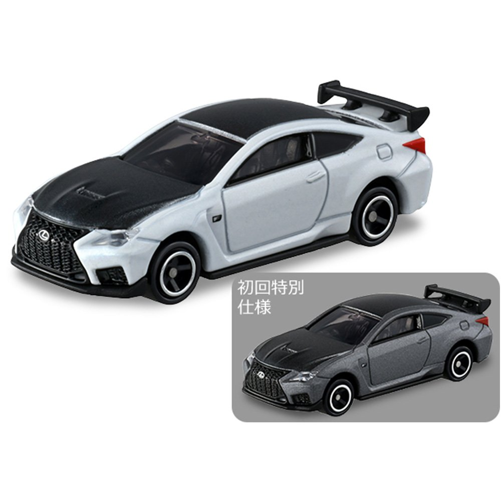 TOMICA 多美小汽車 #84 Lexus RC F (初回特別版+一般版)【新車貼】