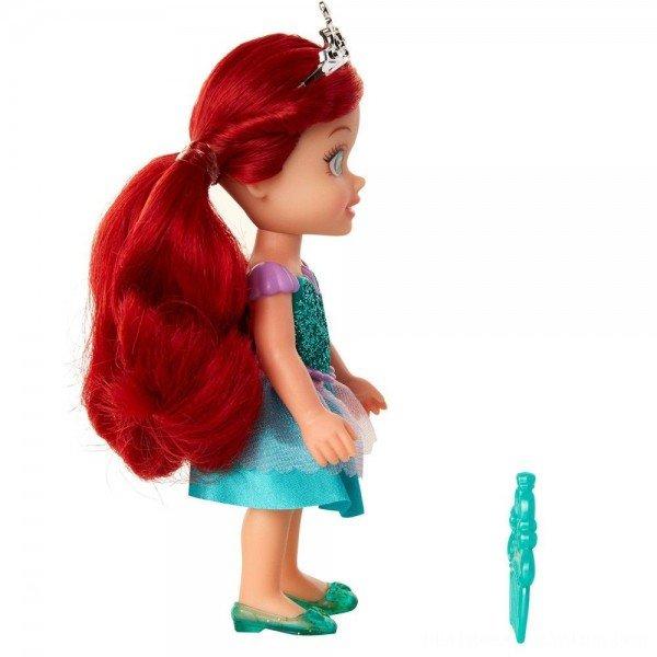 迪士尼公主 6吋小小人偶