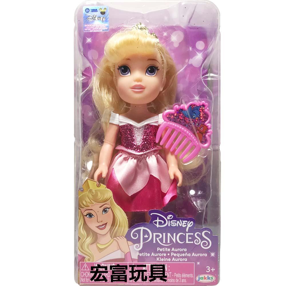 迪士尼公主 6吋小小人偶 【睡美人 】