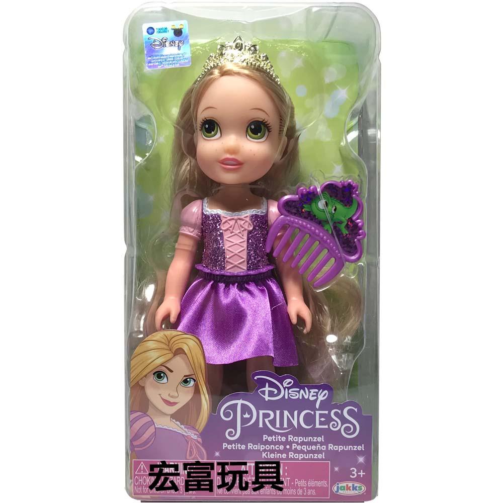迪士尼公主 6吋小小人偶 【樂佩 】