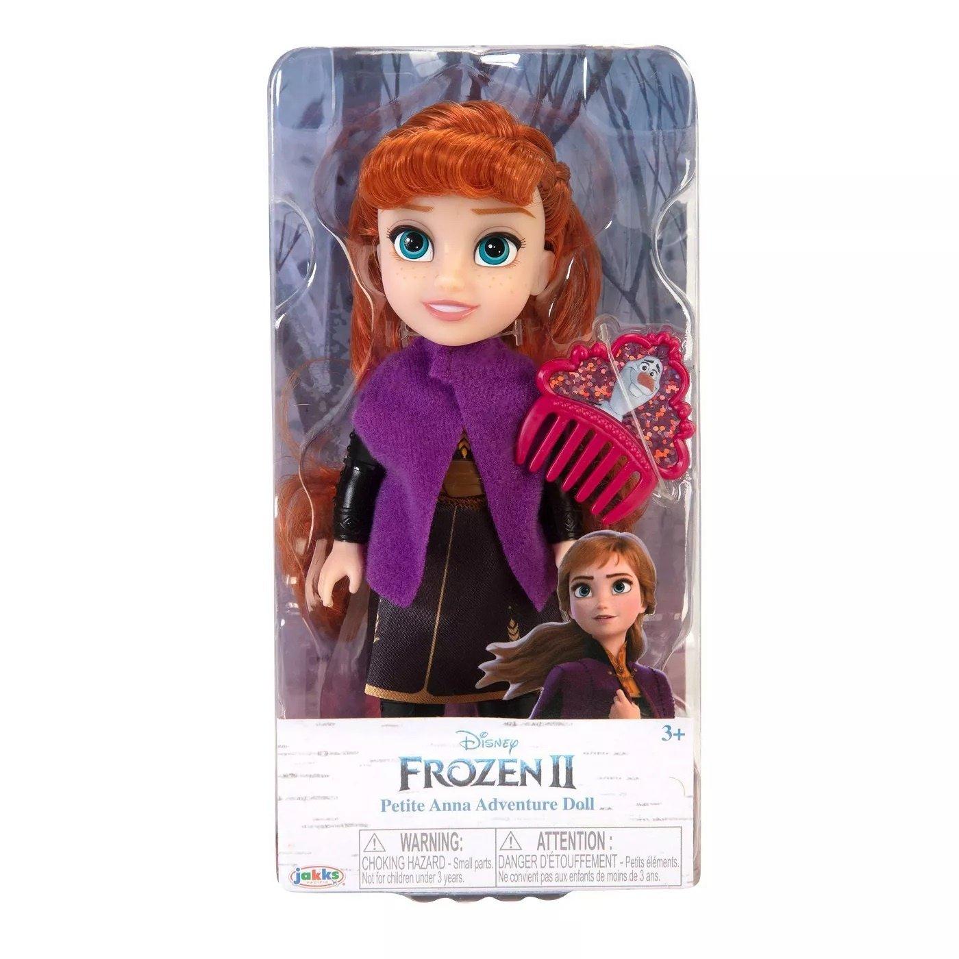 冰雪奇緣2 6吋小小人偶 【安娜】