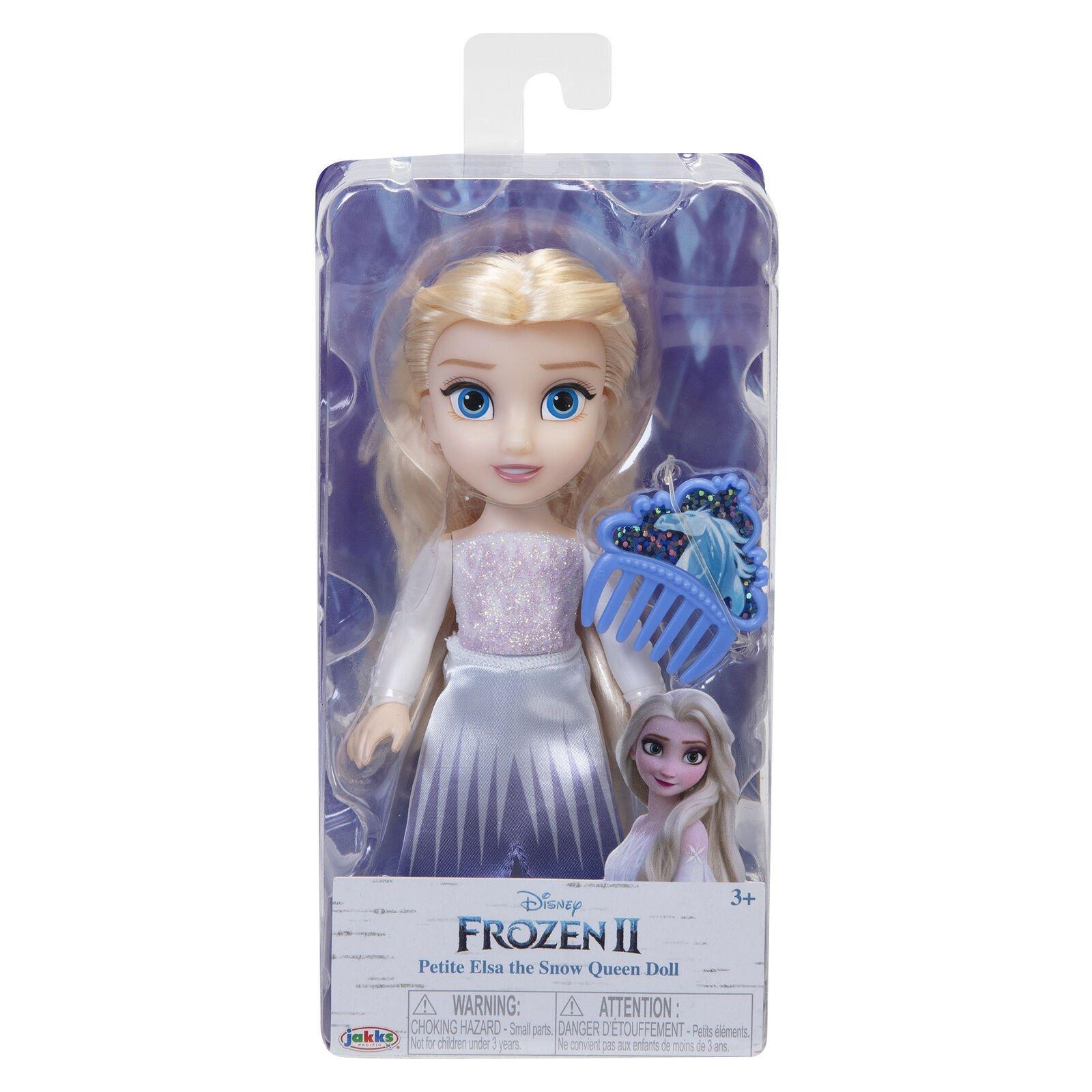 冰雪奇緣2 6吋小小人偶 【艾莎】白