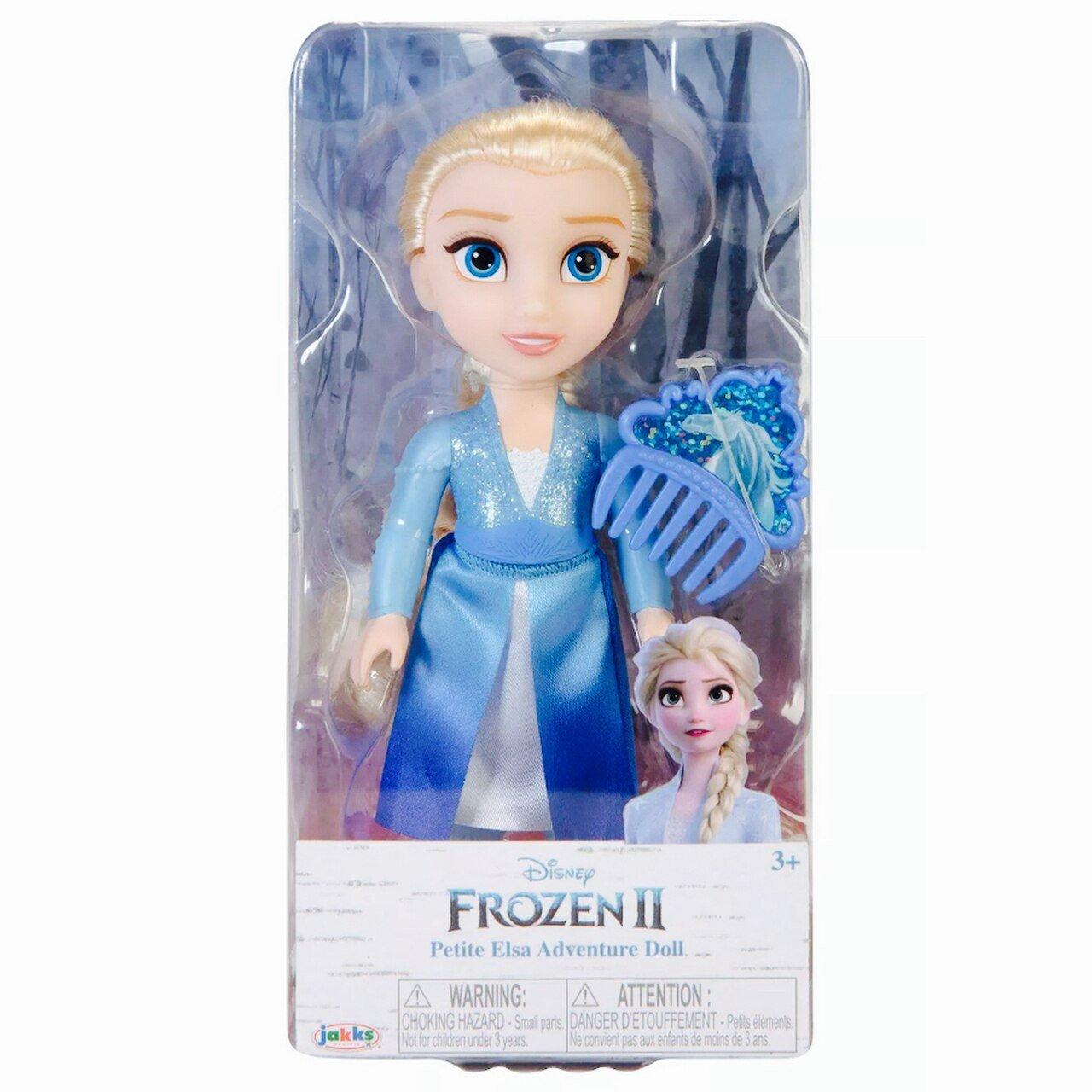 冰雪奇緣2 6吋小小人偶 【艾莎】