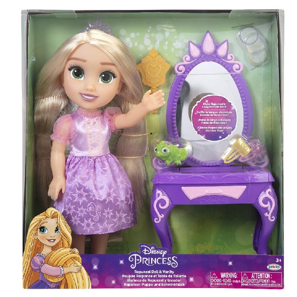 迪士尼公主娃娃 樂佩與化妝台