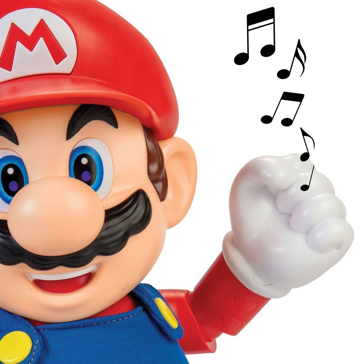 任天堂 超級瑪利歐 12吋感應音效瑪利歐
