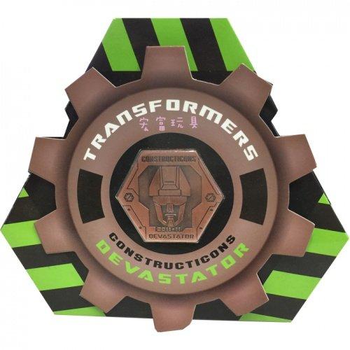 變形金剛 Devastator 大力神 特典 紀念幣