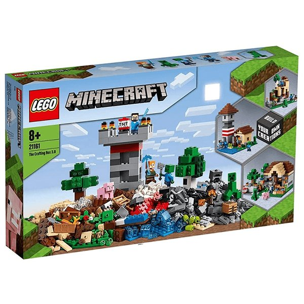LEGO 樂高積木 Minecraft Micro World 創世神系列 21161 The Crafting Box 3.0