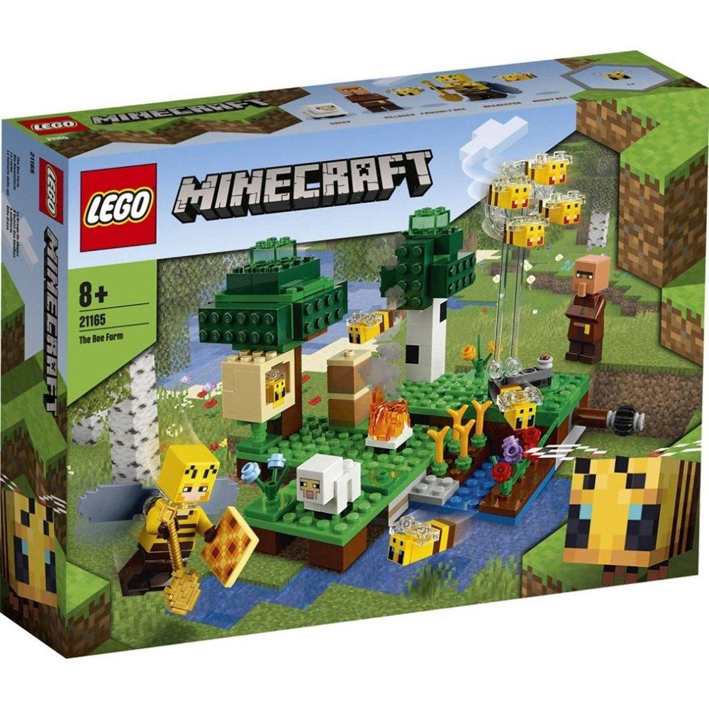 【2021.1月新品】LEGO 樂高積木 Minecraft Micro World 創世神系列 21165
