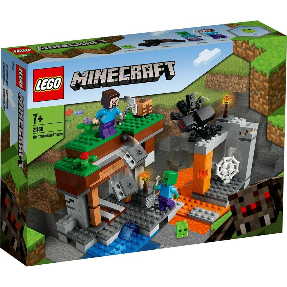 "【2021.1月新品】LEGO 樂高積木 Minecraft Micro World 創世神系列 21166 The ""Abandoned"" Mine"