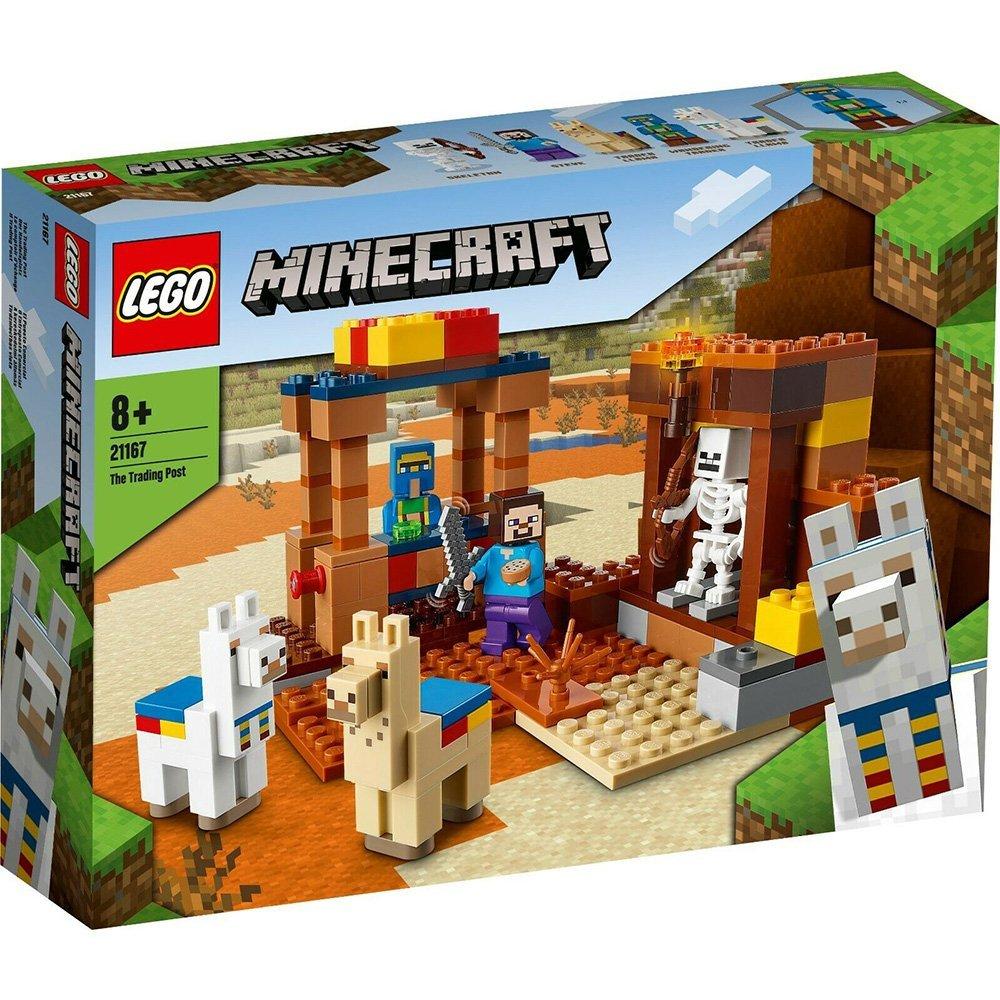 【2021.1月新品】LEGO 樂高積木 Minecraft Micro World 創世神系列 21167