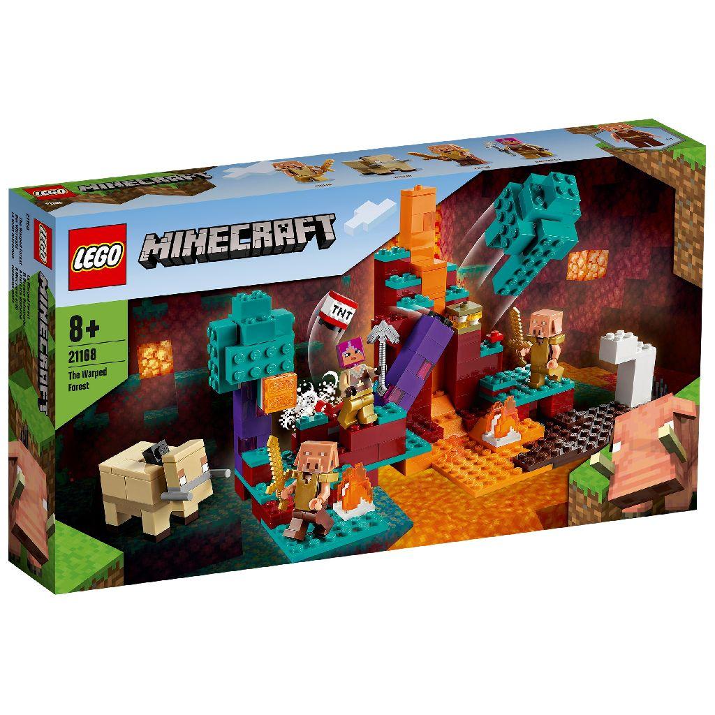 LEGO 樂高積木 Minecraft Micro World 創世神系列 21168 The Warped Forest