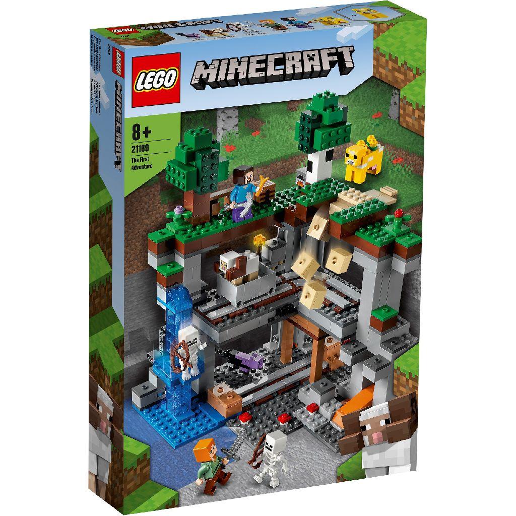 LEGO 樂高積木 Minecraft Micro World 創世神系列 21169 The First Adventure