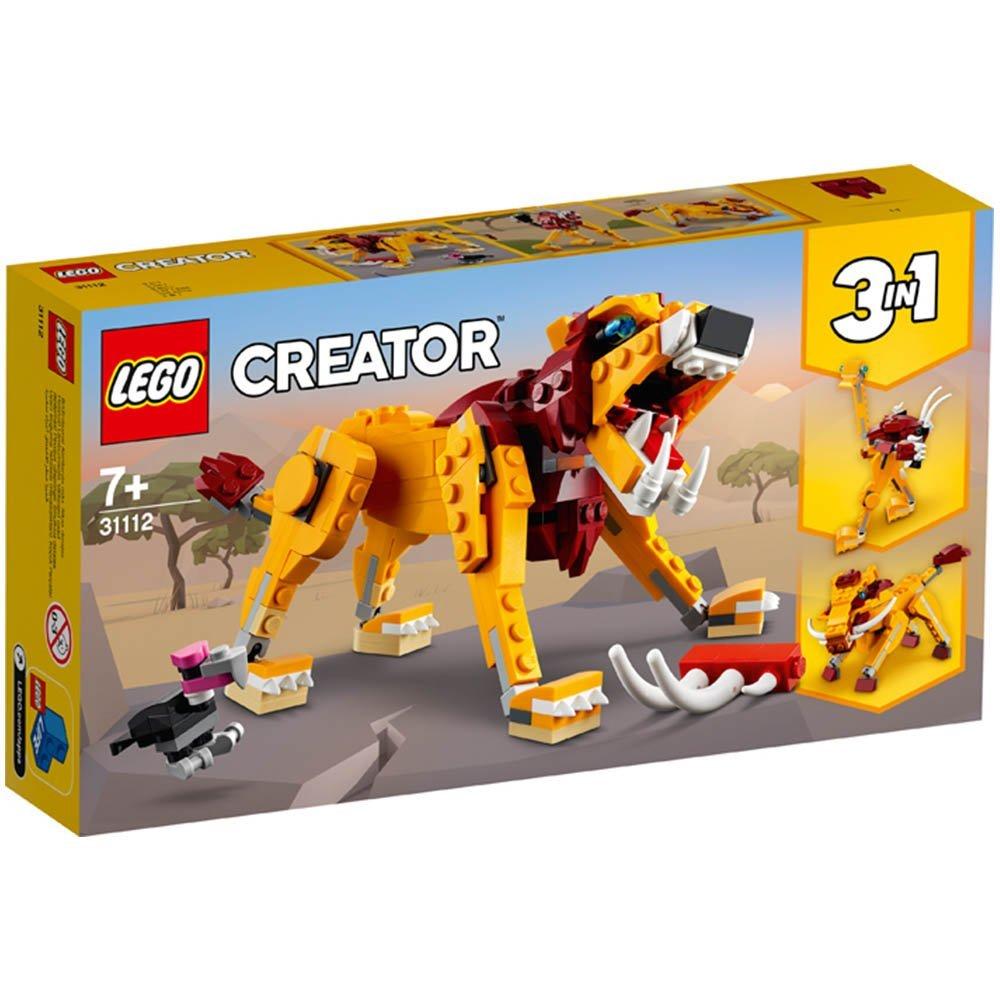 【2021.1月新品】LEGO 樂高積木 Creator系列 31112 野獅