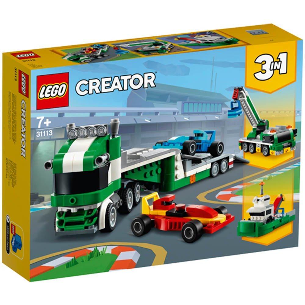 【2021.1月新品】LEGO 樂高積木 Creator系列 31113 賽車運輸車