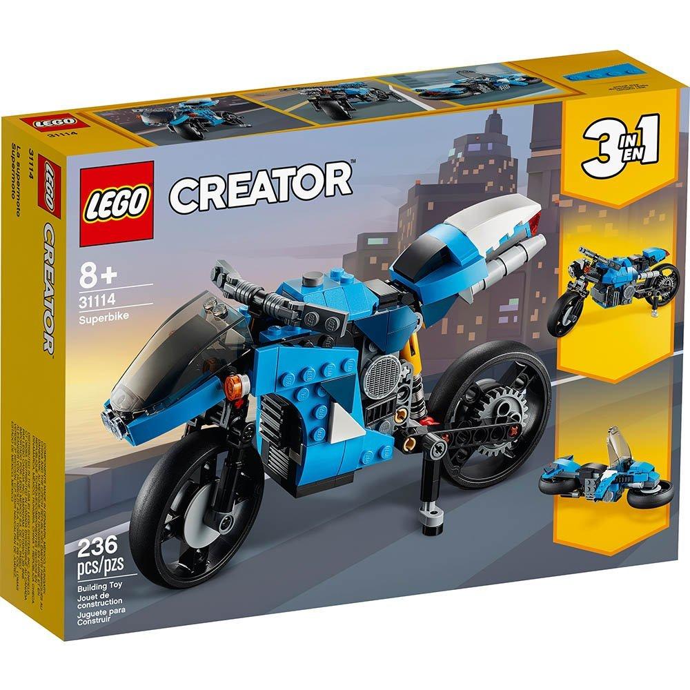 【2021.1月新品】LEGO 樂高積木 Creator系列 31114 超級摩托車