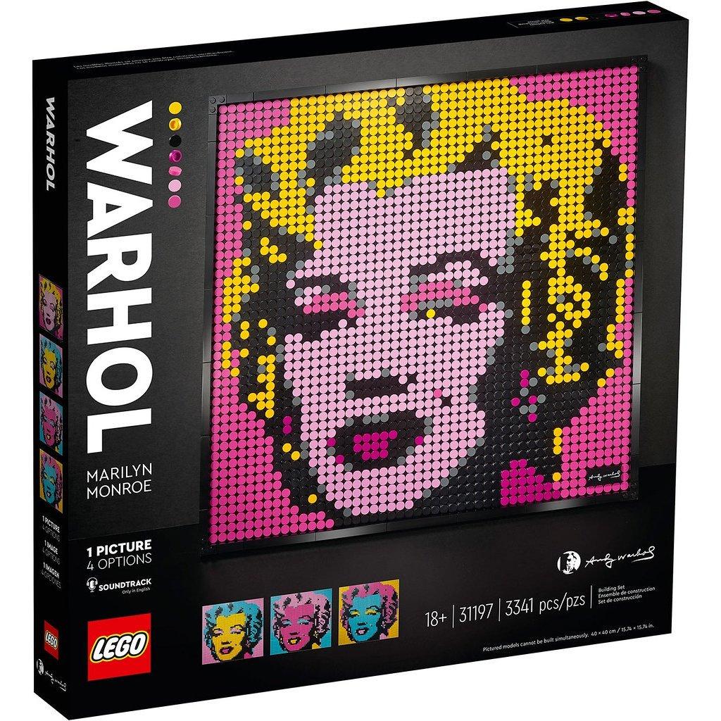 LEGO 樂高積木 LEGO ART 馬賽克畫 31197 瑪麗蓮·夢露