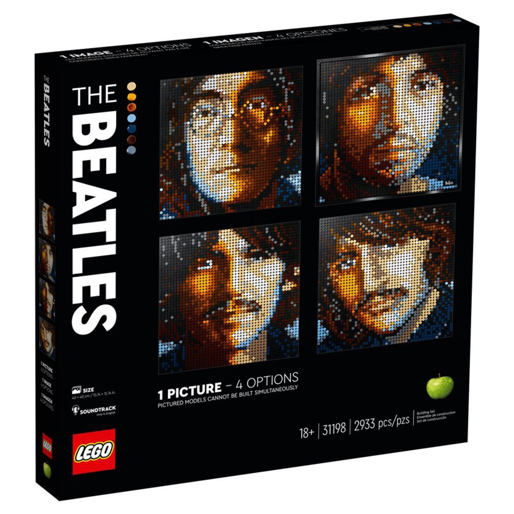 LEGO 樂高積木 LEGO ART 馬賽克畫 31198 經典樂隊-披頭四
