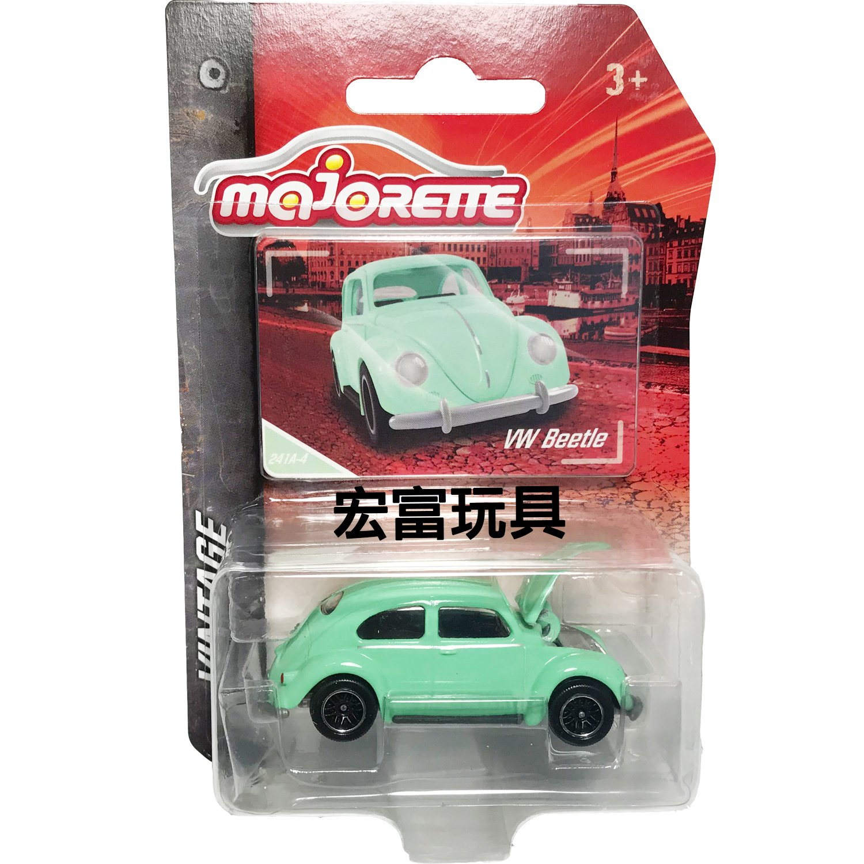 美捷輪小汽車 - 復古車款 #241A-4 VW Beetle