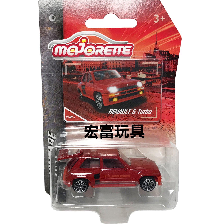 美捷輪小汽車 – 復古車款 #210B-1 RENAUALT 5 Turbo (紅)