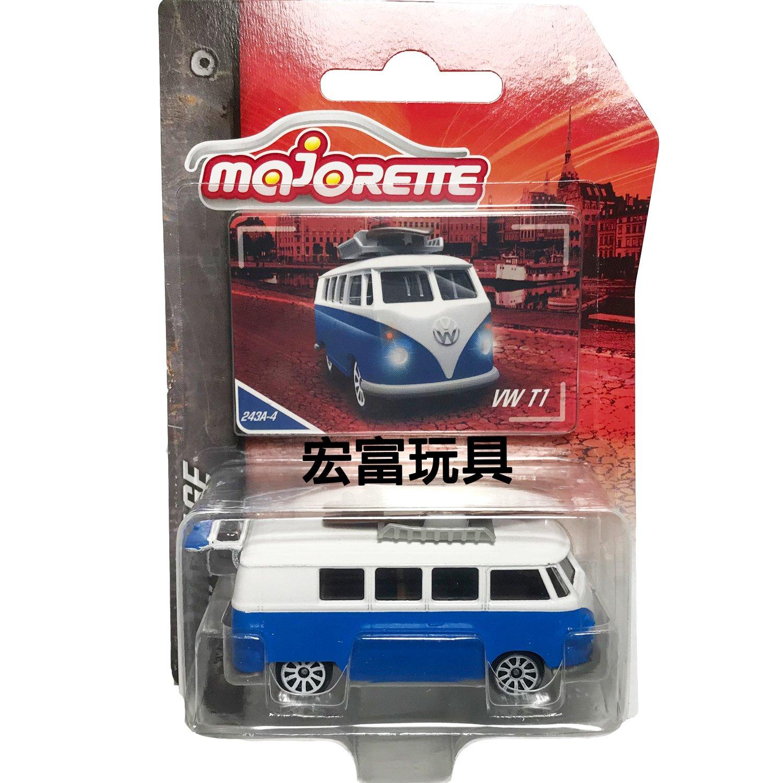 美捷輪小汽車 - 復古車款 #243A-4 VW T1