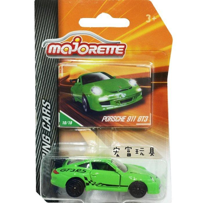 美捷輪小汽車 - 賽車車款10/18 PORSCHE 911 GT3