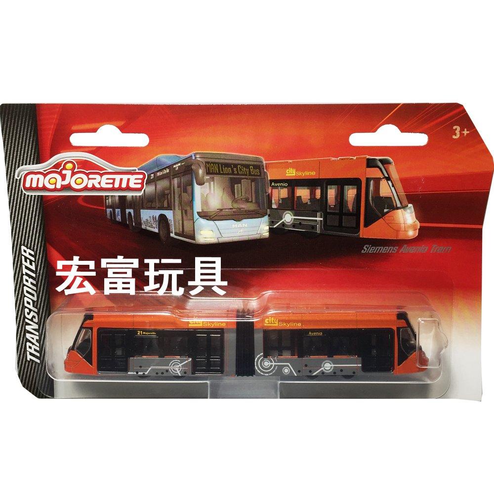 美捷輪小汽車 - 城市輕軌列車 Siemens Avenio Tram 橘