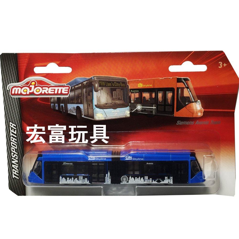 美捷輪小汽車 - 城市輕軌列車 Siemens Avenio Tram 藍