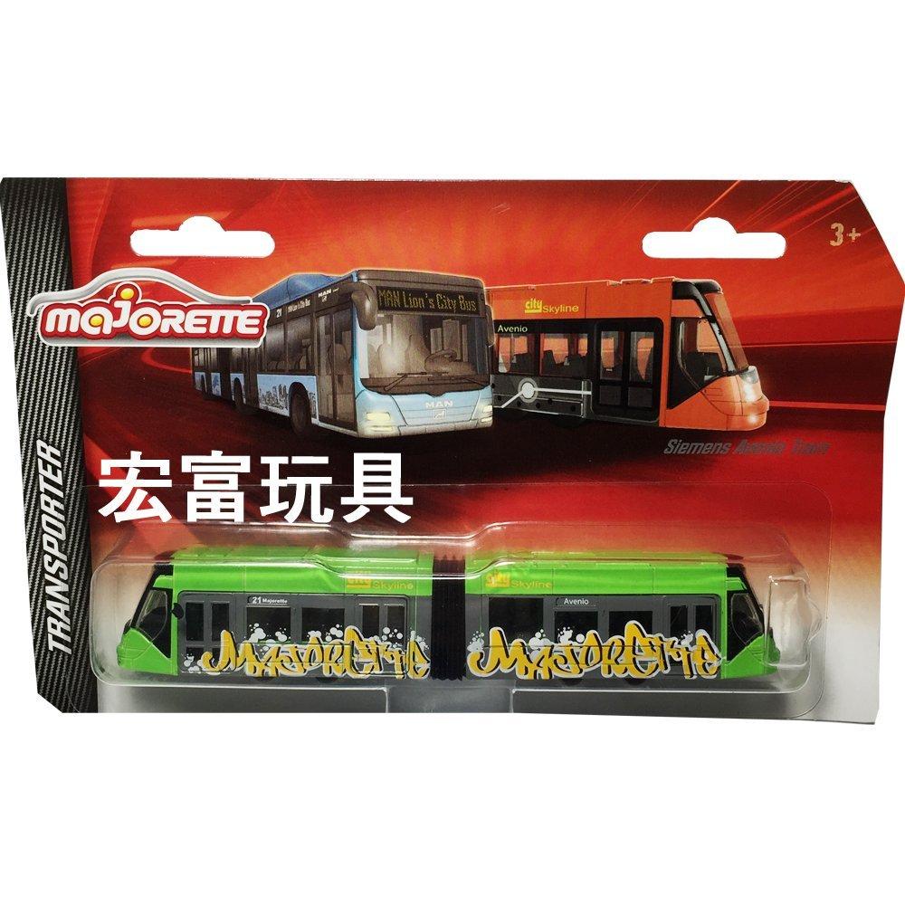美捷輪小汽車 - 城市輕軌列車 Siemens Avenio Tram 綠
