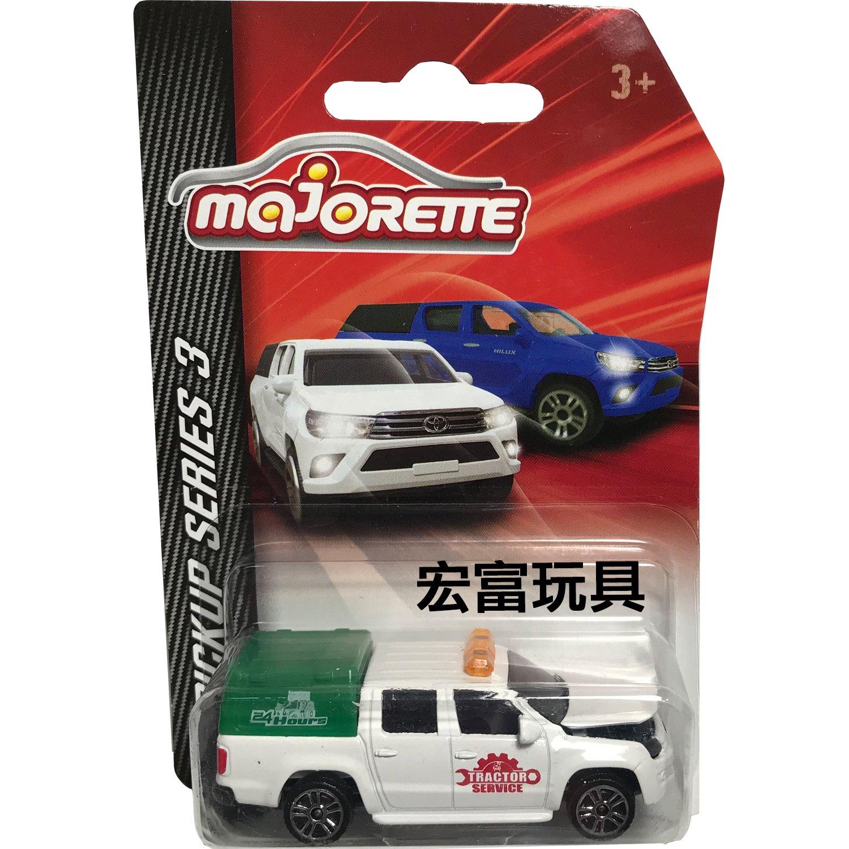 美捷輪小汽車 皮卡系列S3 白色