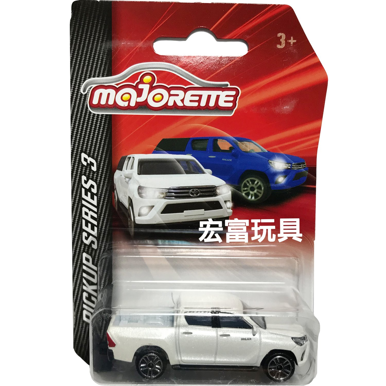 MAJORETTE 美捷輪小汽車 皮卡系列S3 白