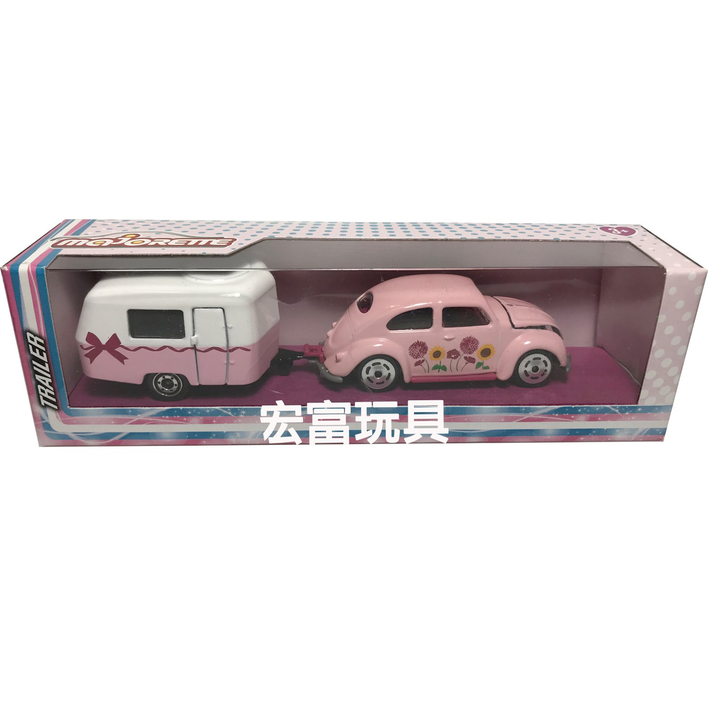 美捷輪小汽車粉紅拖車系列