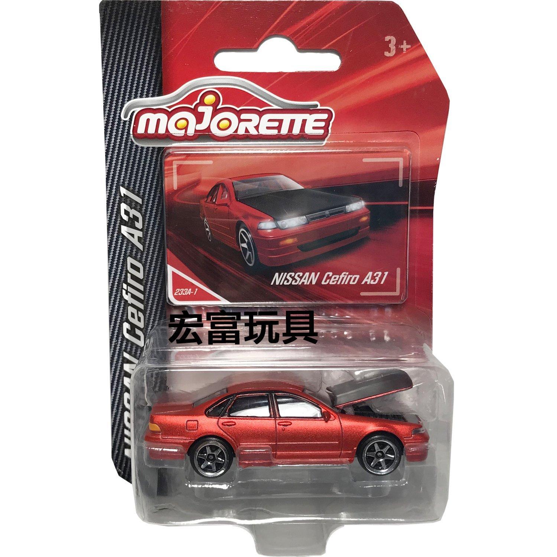 MAJORETTE 美捷輪小汽車 233A-1 Nissan Cefiro A31 (紅)