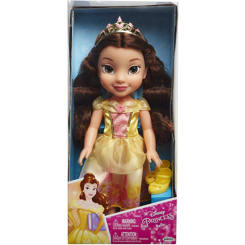 迪士尼公主娃娃 美女與野獸 貝兒