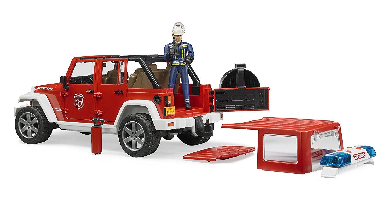 BRUDER 1:16 Jeep 消防越野車 2528