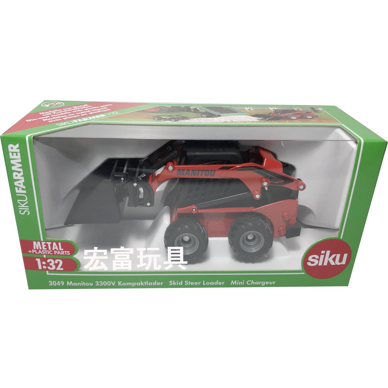 SIKU #3049 Manitou3300V 防滑裝載車
