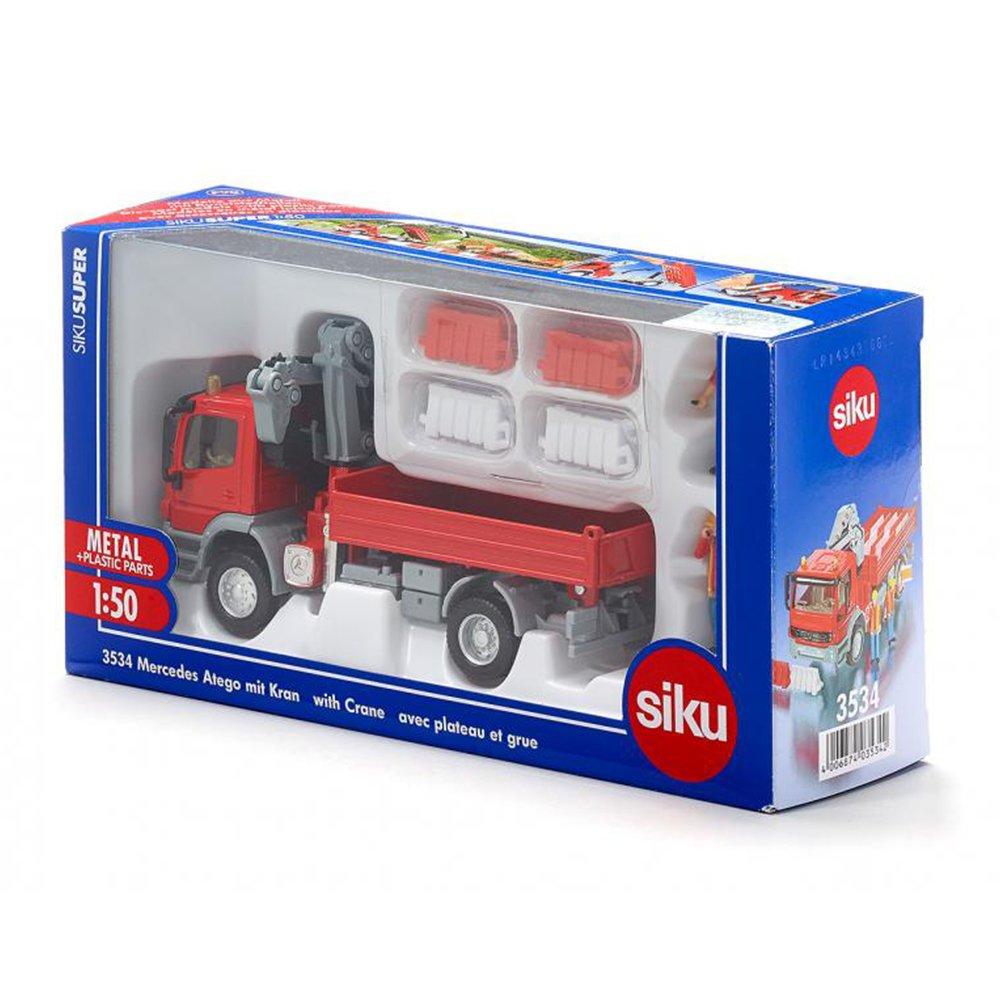 SIKU #3534 起重機工程車