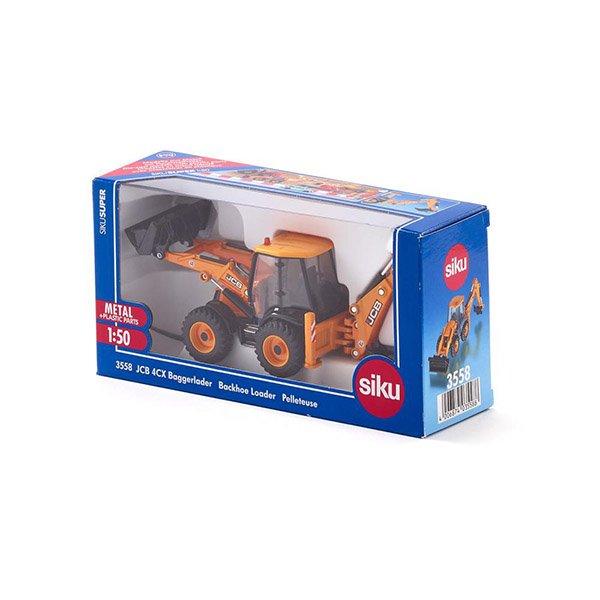 SIKU #3558 JCB 4CX 挖土機