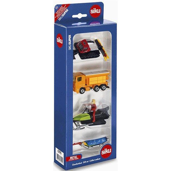 SIKU #6209 SIK 小汽車禮盒4入裝