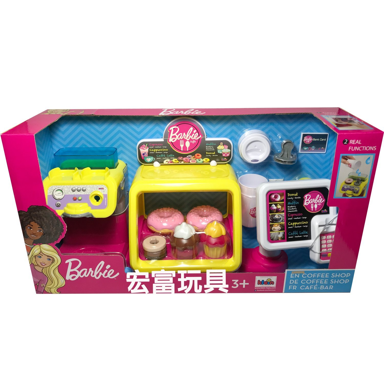 MATTEL Barbie 芭比美味咖啡廳