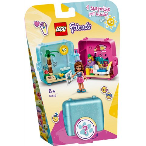 LEGO 41412夏日秘密寶盒-奧麗薇亞